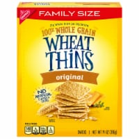Wheat Thins Original Snack Crackers Family Size - 14 oz