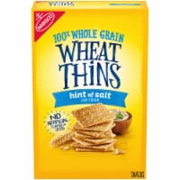 Nabisco Wheat Thins Hint of Salt Crackers