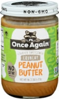 Once Again Lightly Sweetened Crunchy Peanut Butter - 16 oz