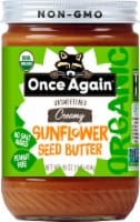Once Again Sunflower Seed Salt & Sugar Free Creamy Nut Butter