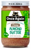 Once Again Organic Unsweetened & Lightly Toasted Creamy Almond Butter