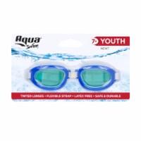 Aqua Sport Silicone Goggles - Case Of: 1; - Count of: 1