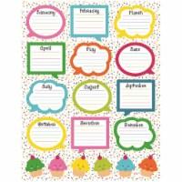 School Pop Birthday Chartlet - 1