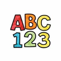 Celebrate Learning Watercolor Combo Pack EZ Letters - 1