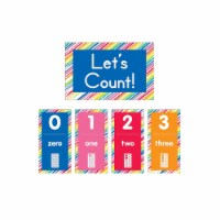 Just Teach Number Cards Bulletin Board Set - 1