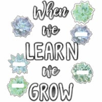 Simply Stylish When We Learn We Grow Bulletin Board Set, 50 Pieces - 1