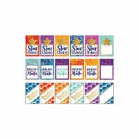 Galaxy Reward Tags Recognition Awards, 3  x 2 , Pack of 36 - 1