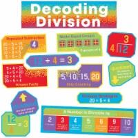 Decoding Division Mini Bulletin Board Set, 15 Pieces - 1
