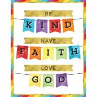 Be Kind Have Faith Love God Chart - 1