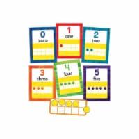 Carson Dellosa CD-110455 World of Eric Carle Numbers 0-20 Bulletin Board Set - Multi Color