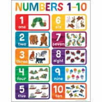 World of Eric Carle™ Numbers 1-10 Chart - 1
