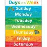 World of Eric Carle™ Days of the Week Chart - 1