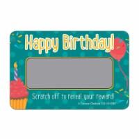 Carson Dellosa CD-101089 Scratch Off Awards Happy Birthday