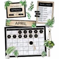 Carson Dellosa Education CD-110502 Simply Boho Calendar Bulletin Board Set for Grade K-5, Mul