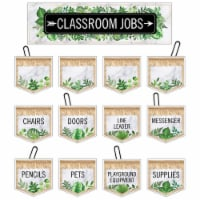 Carson Dellosa Education CD-110509 Simply Boho Classrm Jobs Mini Bulletin Board Set for Grade