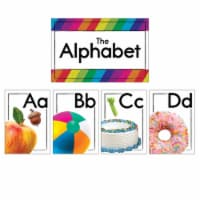 Photographic Alphabet Bulletin Board Set