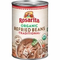 Rosarita Organic Traditional Refried Beans - 16 oz