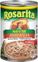 Rosarita Zesty Salsa Refried Beans
