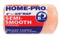 Premier  Home-Pro  Polyester  4 in. W x 3/8 in.  Paint Roller Cover  1 pk - Case Of: 36; Each - Case of: 36