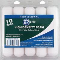 Premier Mini Paint Roller,6-1/2 in,PUR Foam,PK10 HAWA 53872