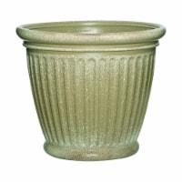 Suncast 7507247 16 x 18 in. Capital Resin Craftsman Planter, Tan