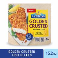 Gorton's® Ancient Grains Crusted Fish Fillets - 8 ct / 15.2 oz