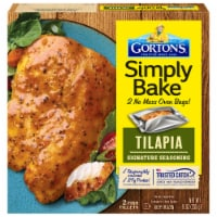 Gorton's Simply Bake Signature Seasoning Tilapia Fillets