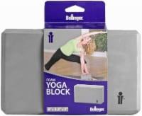Bollinger® Foam Yoga Block - Titanium