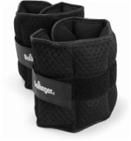 Bollinger® Adjustable Ankle and Wrist Weights - Black