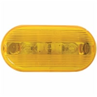 Peterson Oblong Amber 2 In. Clearance Light V135A - 1