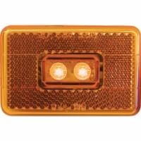 PM Rectangle Amber LED Clearance Light V170A