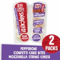 Hillshire Farm® SNACKED! Pepperoni and Mozzarella Cheese with Cake Bites - 3.92 oz