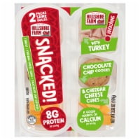 Hillshire Farm® SNACKED! Turkey Cheddar Cheese and Chocolate Chip Cookies - 3.68 oz