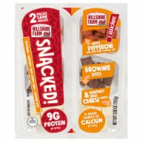 Hillshire Farm® SNACKED! Pepperoni Monterey Jack Cheese and Brownie Bites - 3.6 oz
