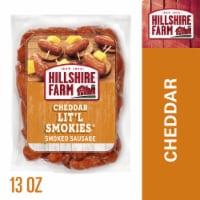 Hillshire Farm Cheddar Lit'l Smokies Smoked Sausage