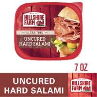 Hillshire Farm Ultra Thin Uncured Hard Salami Lunch Meat