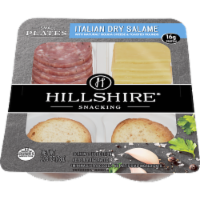 Hillshire Snacking Small Plates Italian Dry Salame and Gouda Cheese