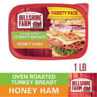 Hillshire Farm Ultra Thin Sliced Lunchmeat Oven Roasted Turkey Breast & Honey Ham