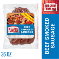 Hillshire Farm Beef Smoked Sausage Rope Family Pack