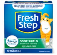 Fresh Step Odor Shield with Febreze Freshness Clumping Cat Litter