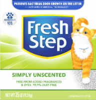 Fresh Step Simply Unscented Multi-Cat Clumping Litter