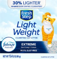 Fresh Step Light Weight Extreme Clumping Cat Litter with Febreze
