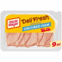 Oscar Mayer Deli Fresh Smoked Uncured Ham Lunch Meat