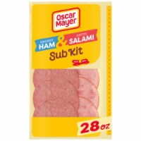 Oscar Mayer Smoked Ham & Cotto Salami Sub Kit