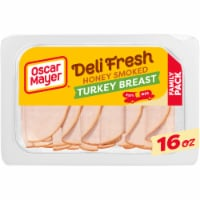Oscar Mayer Deli Fresh Honey Smoked Turkey Breast Lunch Meat