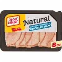Oscar Mayer Natural Applewood Smoked Uncured Ham - 8 oz