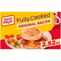 Oscar Mayer Original Fully Cooked Bacon Slices - 2.52 oz