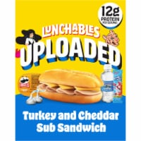 Lunchables Uploaded Turkey & Cheddar Sub Convenience Meal