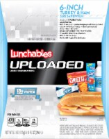 Lunchables Uploaded Turkey & Ham Sub Convenience Meals
