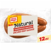 Oscar Mayer Selects Natural Uncured Beef Sausage